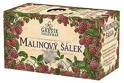 Grešík Ovocný čaj Malinový šálek 20 n.s.