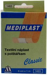 Mediplast 6cmx1m textil.1ks 1463