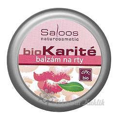 Saloos bio Karité balzám na rty 19ml 7755034
