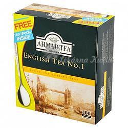 Ahmad English No.1 Tea 100n.s. bez přebalu, se šňůrkou 052