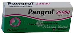 Pangrol 20000 por.tbl.ent.20