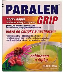 Paralen Grip horký Echin+šípky por.gra.sol.scc.12 - 1