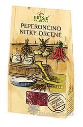 Grešík Peperoncino nitky drcené 3 g Dobré koření