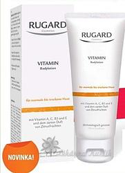 Rugard Vitaminové tělové mléko  200 ml
