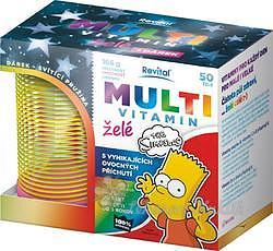The Simpsons Multivitamin želé 50ks+ pružina