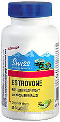Swiss ESTROVONE 75mg isoflavony tbl.90