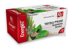 Energie tea Yerba maté+Guaraná+Ženšen 20x1.5g