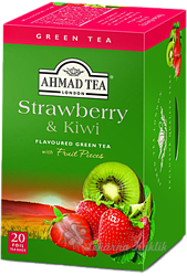 Ahmad Green Tea Strawberry & Kiwi 20n.s. ALU
