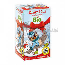Apotheke Pohádkový čaj dětský BIO Zimní s rakytníkem 20x2g - 1