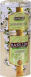 Basilur Tea JASMIN-GREEN plech 50+75g 7539 - 2