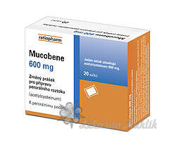Mucobene 600mg gra.10x3gm/600mg-SA - 2