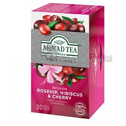 Ahmad Tea Šípek a třešeň 20 x 2.5 g - 2