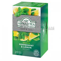 Ahmad Tea Máta s citrónem 20 x 1.5 g - 2