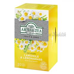 Ahmad Camomile&Lemongrass Tea 20n.s. - 2