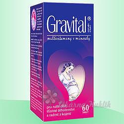 VitaHarmony Gravital tbl.60 pro těhot.a koj.ženy - 3