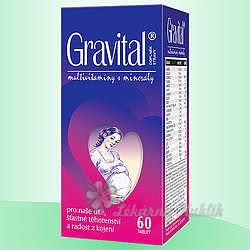 VitaHarmony Gravital tbl.60 pro těhot.a koj.ženy - 4